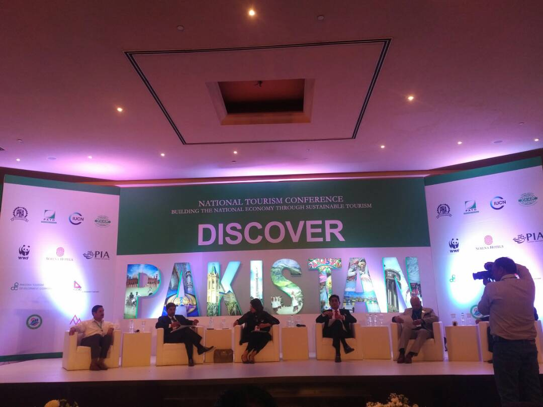 National Tourism Conference held on 24 April, 2017 at Islamabad Serena Hotel
