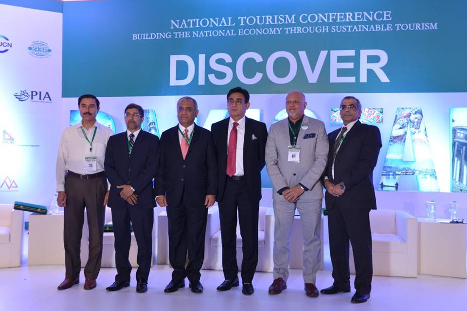 The First even National Tourism Conference held on April 24, 2017 at Islamabad Serena Hotel