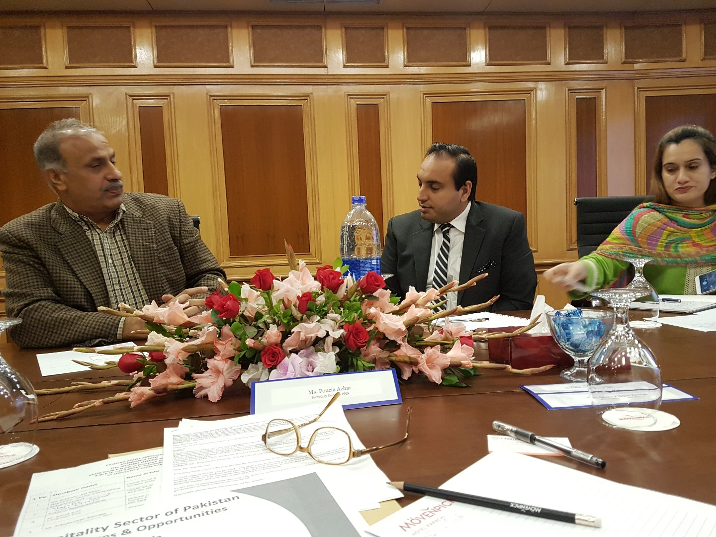 PHA hosts meeting with USAID Small & Medium Enterprise Activity (SMEA)