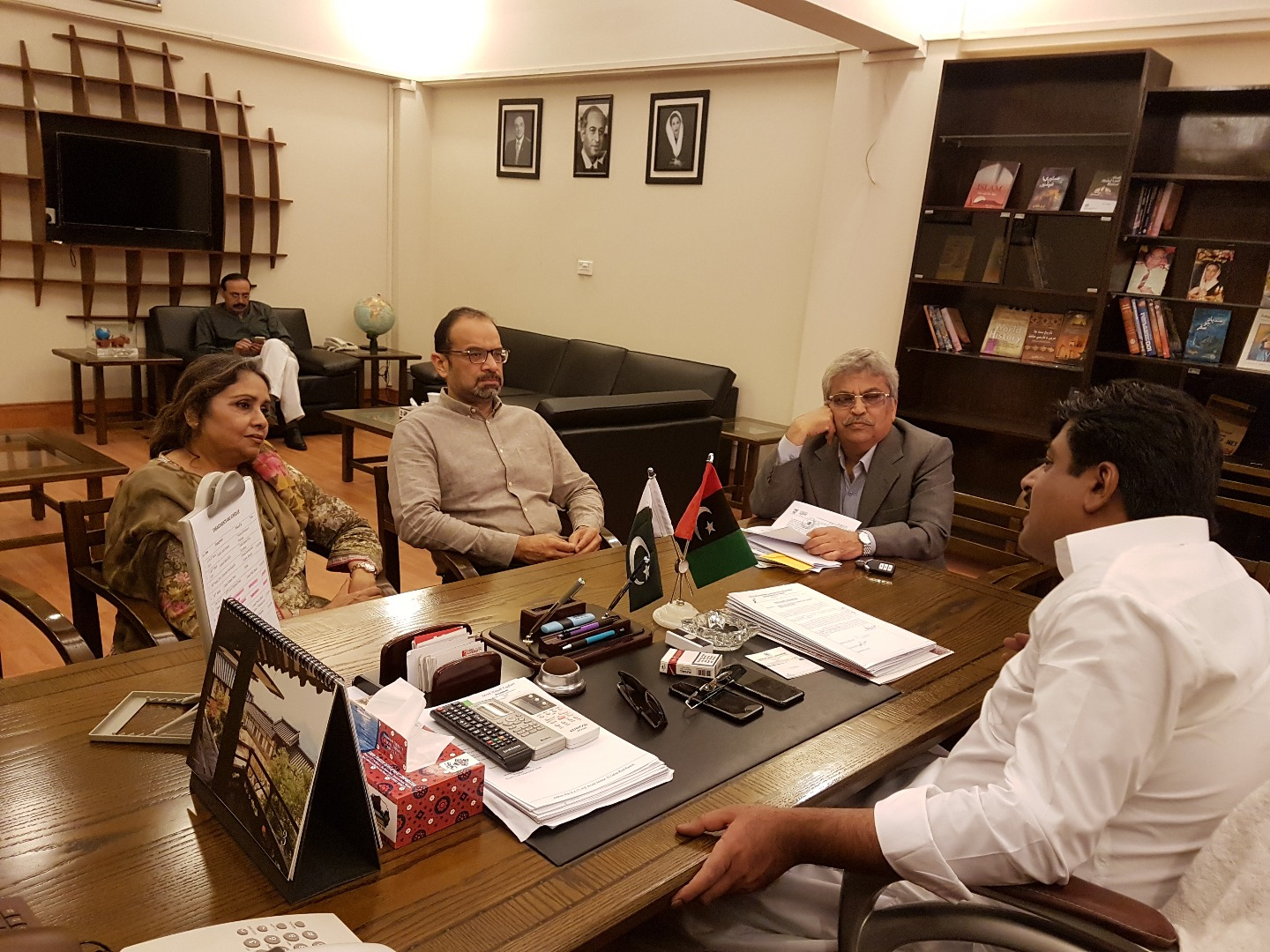 PHA Members meet Minister Tourism Sindh