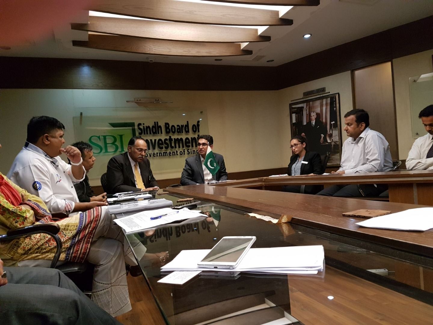 PHA Members meeting with Sindh Food Authority