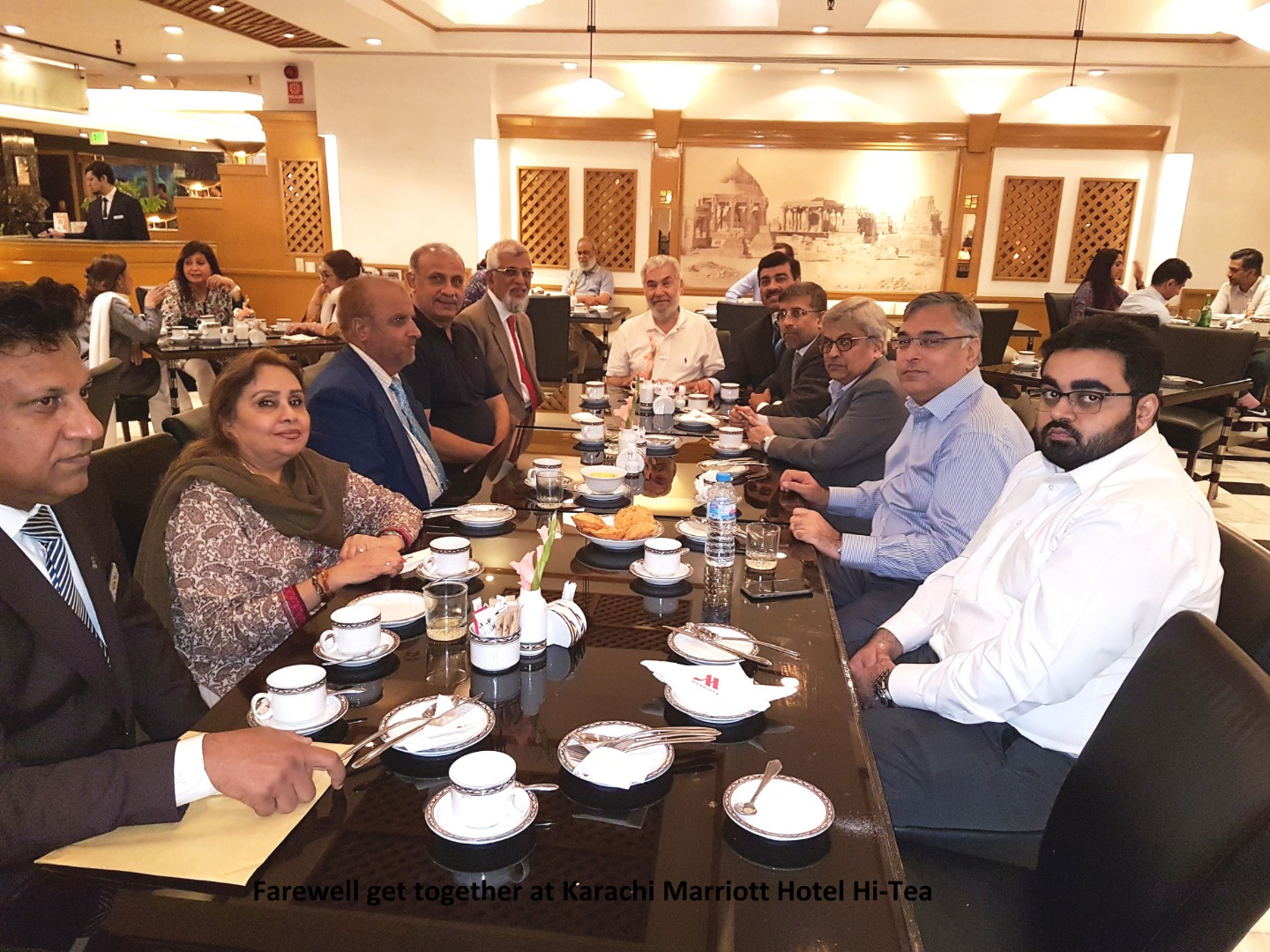 PHA arranged a Farewell in honor of its retiring SVC Mr. Jehan Zeb at Karachi Marriott Hotel