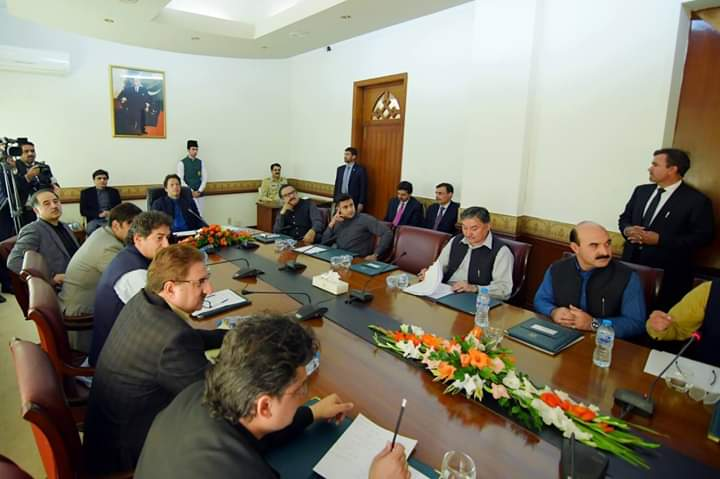 PHA Chairman, Mr. Mustansir Zakir attended meeting of Task Force on Tourism at PM House Islamabad