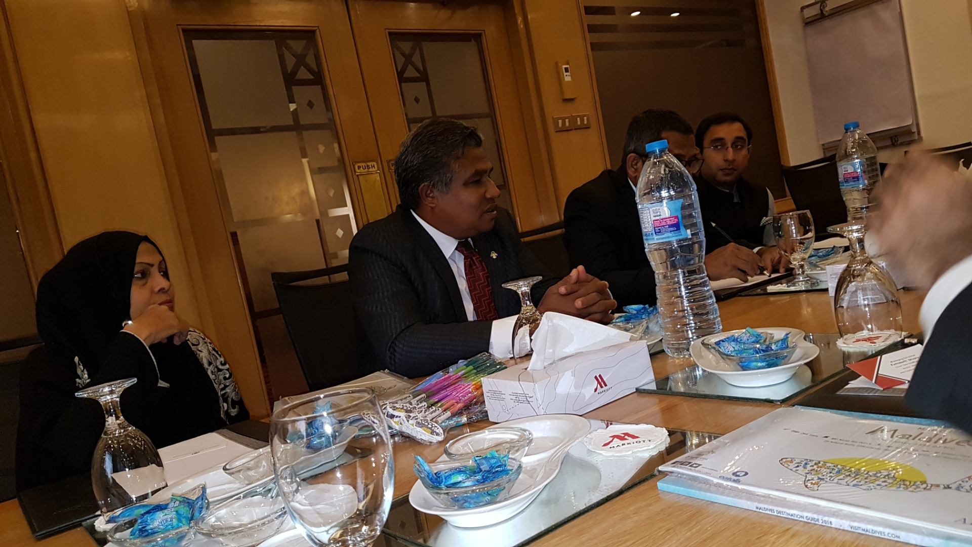 PHA Members meeting with Maldives Delegation