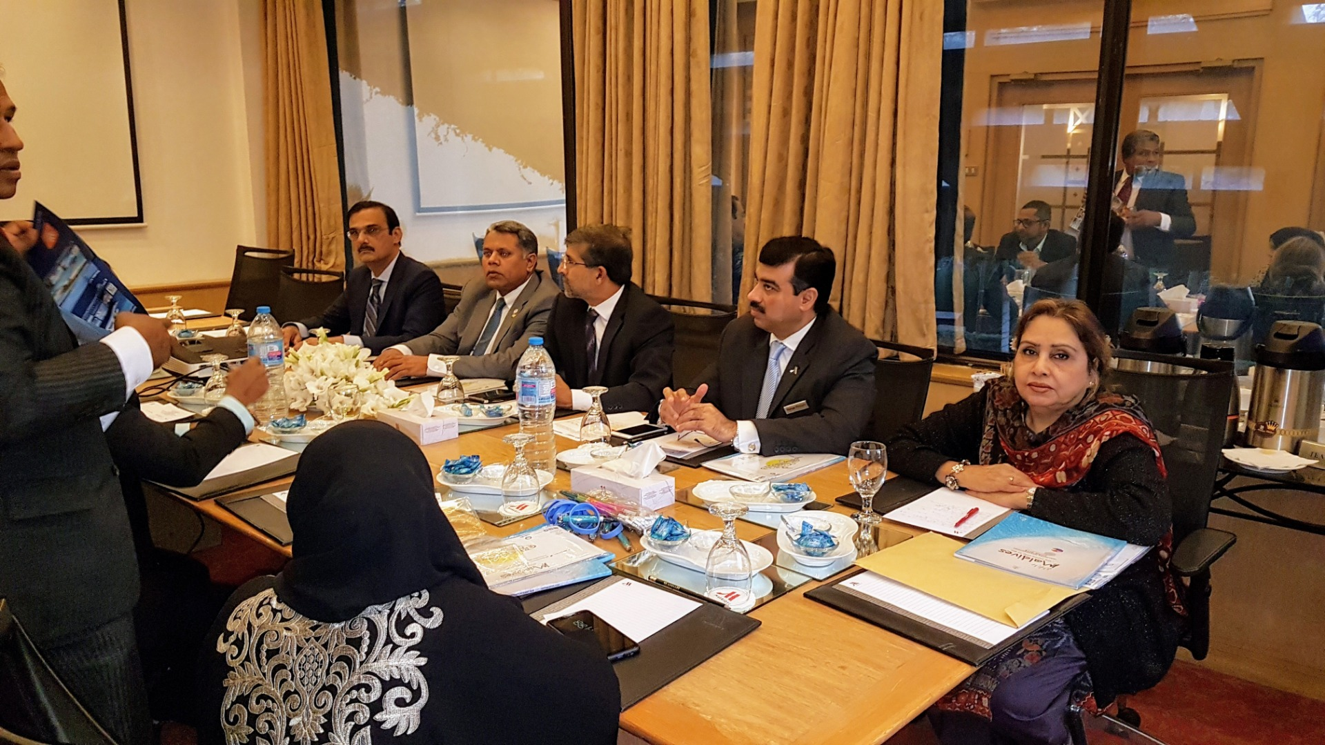 Pakistan Hotels Association hosted a meeting with Maldives Delegation at Karachi Marriott Hotel