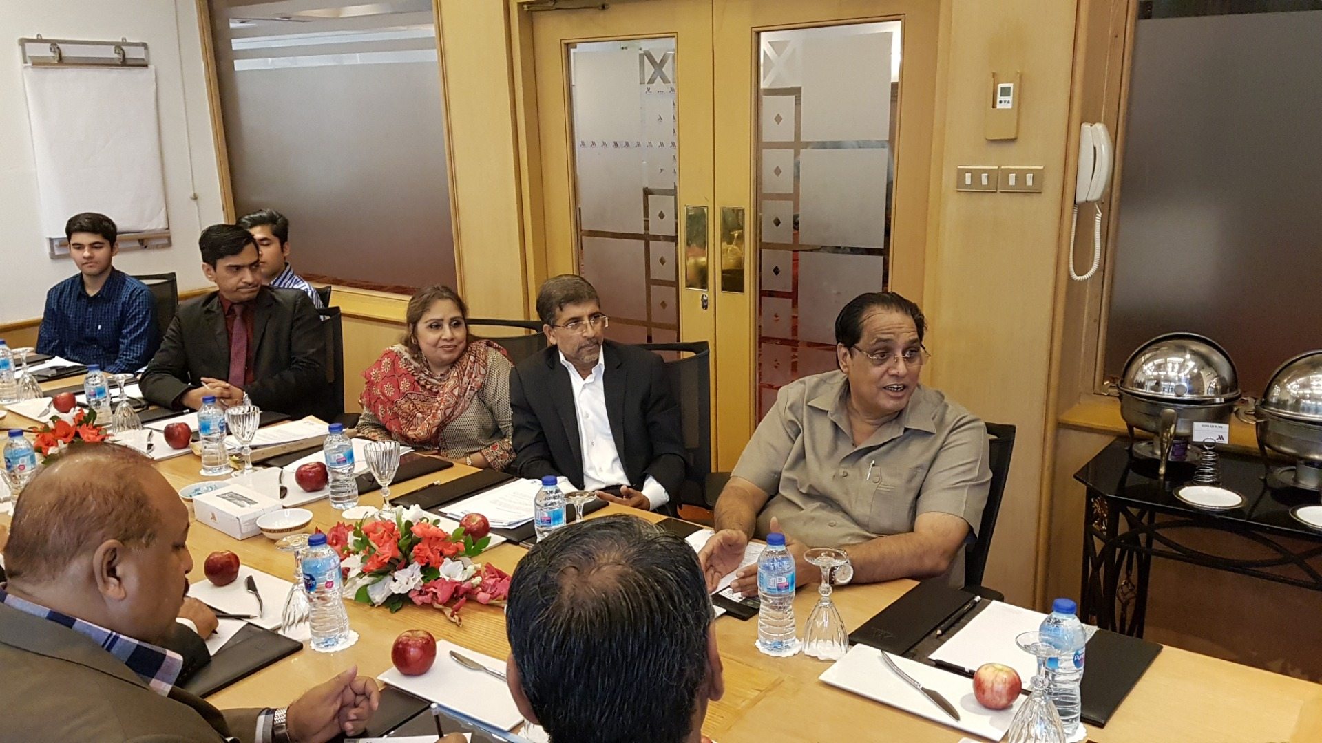 A meeting was held with Additional Secretary, Regional Director and other Officials of IPC Ministry