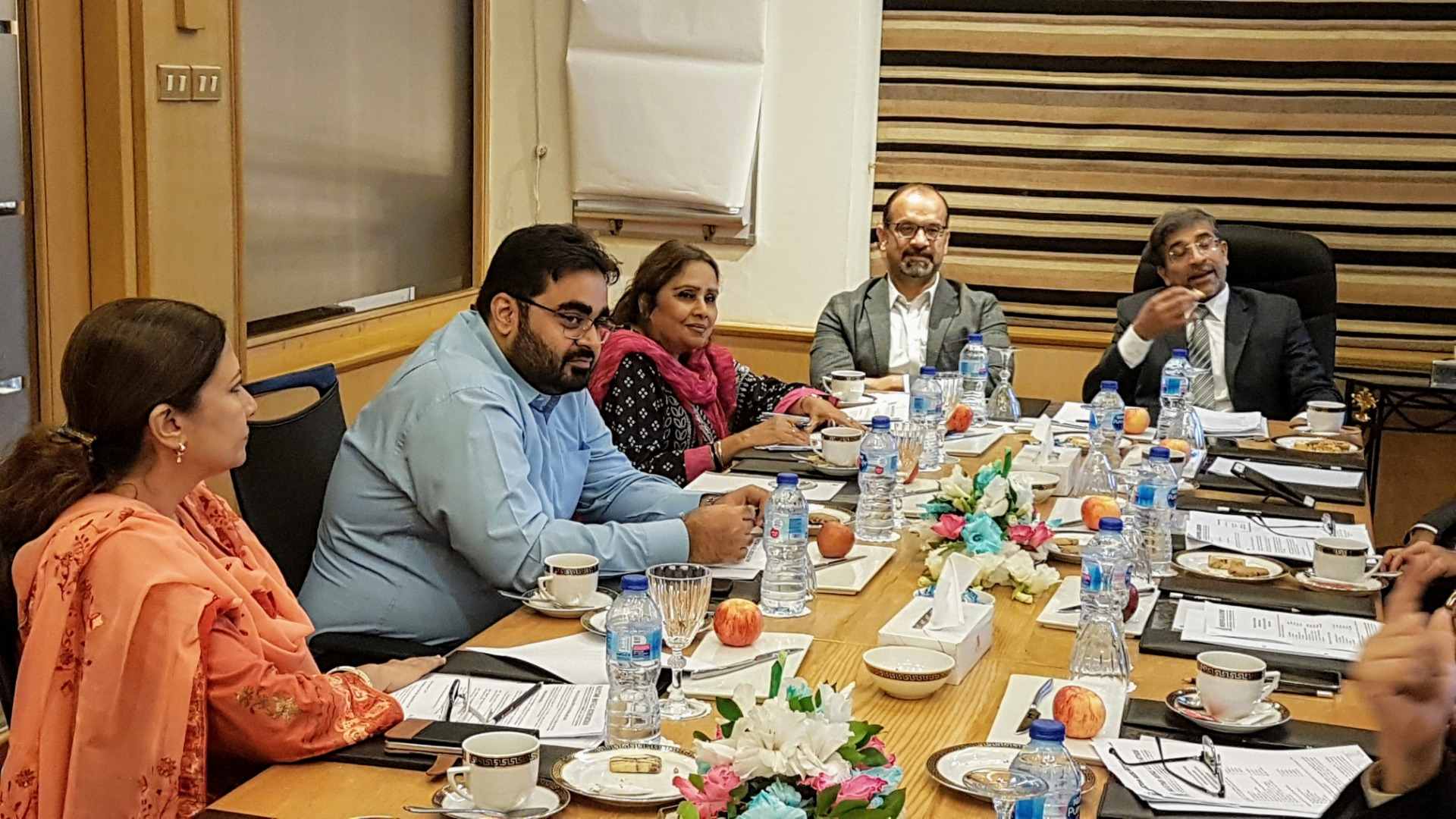 The 55th Annual General Meeting was held on 30-09-2019 at Karachi Marriott Hotel