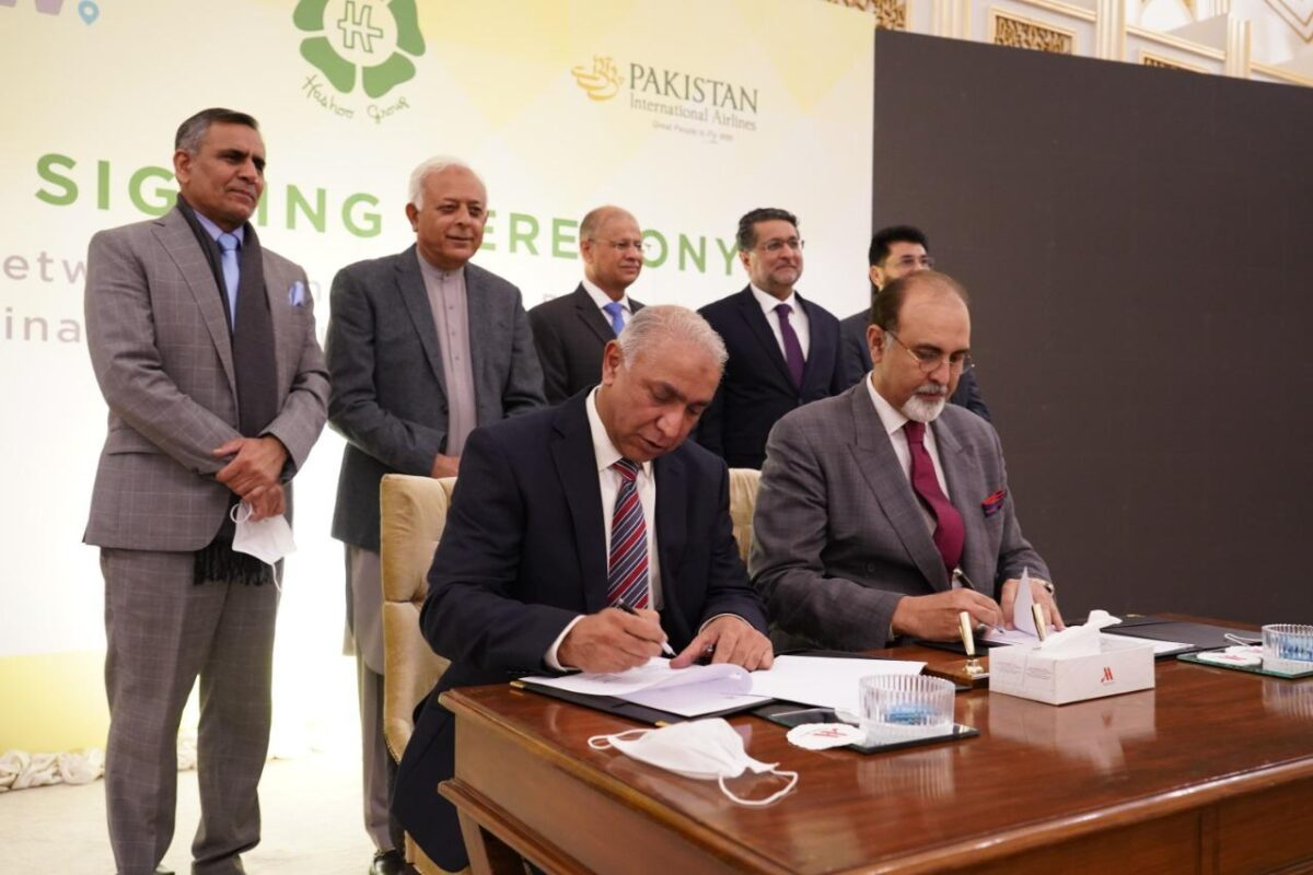PIA and Hashoo Group / Destinations of the World (DOTW-Pakistan) entered into a strategic Alliance